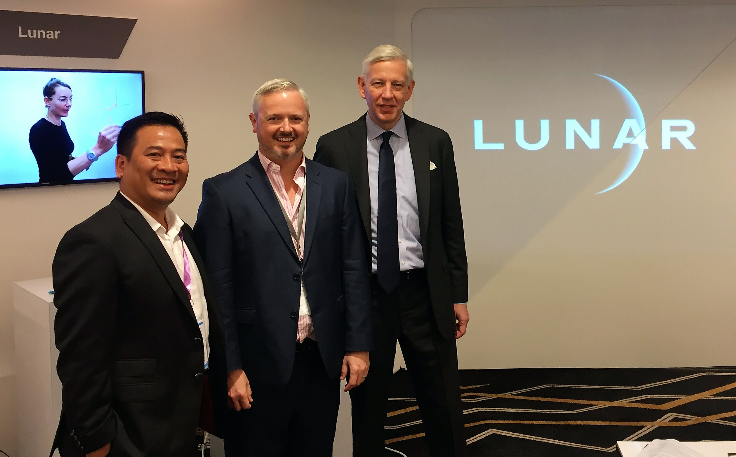Chau Nguyen, Matt Durack, and Dominic Barton